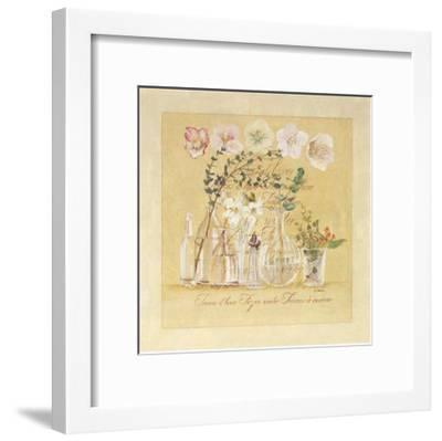 Tresors d'Hiver-Laurence David-Framed Art Print
