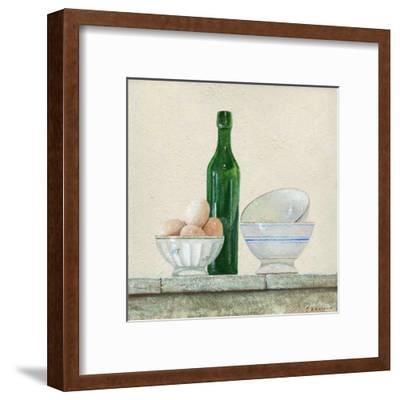 Les Oeufs-Pascal Castillon-Framed Art Print