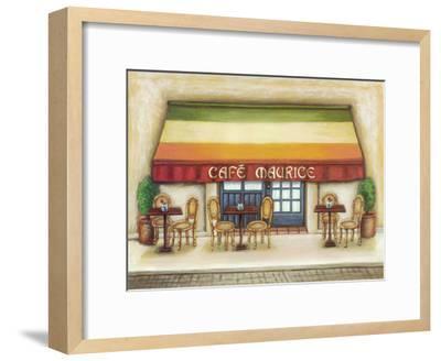 Cafe Maurice-Urpina-Framed Art Print