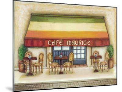 Cafe Maurice-Urpina-Mounted Art Print