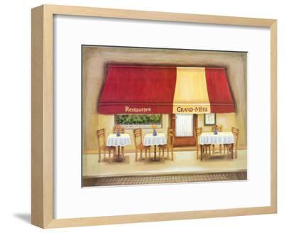 Restaurant Grand-Mere-Urpina-Framed Art Print