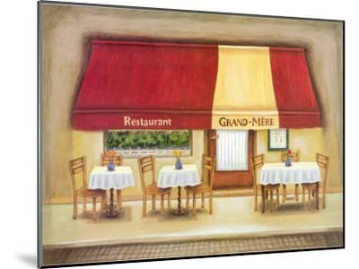 Restaurant Grand-Mere-Urpina-Mounted Art Print
