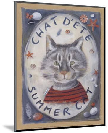 Chat d'Ete-Jo?lle Wolff-Mounted Art Print