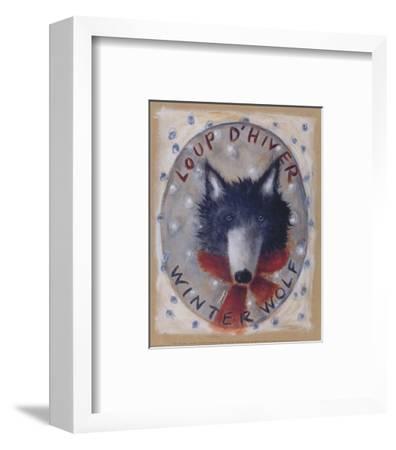 Loup d'Hiver-Jo?lle Wolff-Framed Art Print