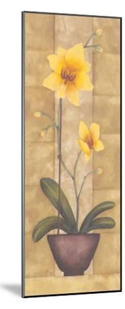 Melodic Orchid IV-Urpina-Mounted Art Print