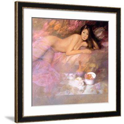 Expectation-Spartaco Lombardo-Framed Art Print