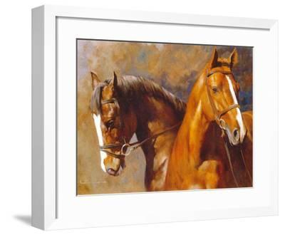 We Sons of the Wind-Spartaco Lombardo-Framed Art Print