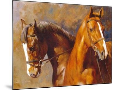 We Sons of the Wind-Spartaco Lombardo-Mounted Art Print