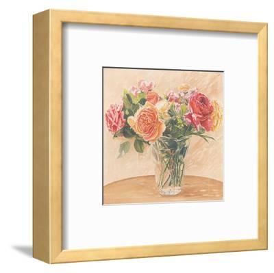 Autour d'Un Bouquet II-Laurence David-Framed Art Print
