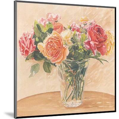 Autour d'Un Bouquet II-Laurence David-Mounted Art Print
