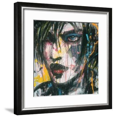 Ennui T.V.-Zilon-Framed Art Print