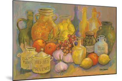 Mediterranean Kitchen II-Karel Burrows-Mounted Art Print