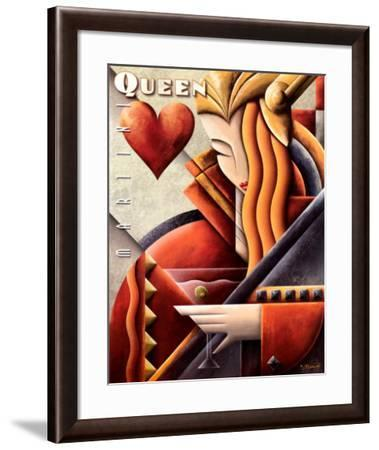 Martini Queen-Michael L^ Kungl-Framed Art Print