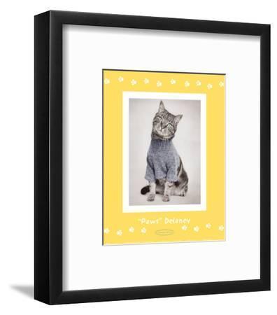 Paws Delaney-Rachael Hale-Framed Art Print
