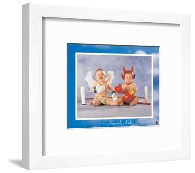 Heavenly Kids, Good Wins-Tom Arma-Framed Art Print