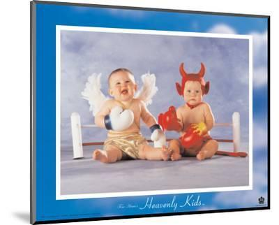Heavenly Kids, Good Wins-Tom Arma-Mounted Art Print