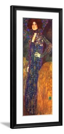 Emilie Floege-Gustav Klimt-Framed Art Print