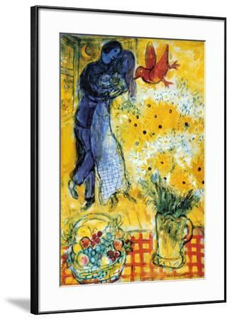 Les Amoureux-Marc Chagall-Framed Poster
