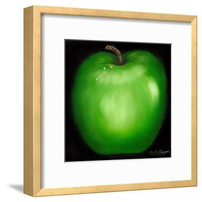 Green Apple-Nelly Arenas-Framed Art Print