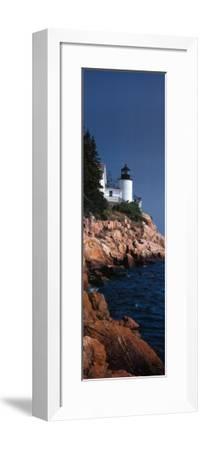 Bass Harbor Head Light, Mount Desert Island, Maine-James Blakeway-Framed Art Print