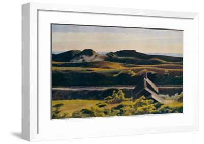 Hills, South Truro, 1930-Edward Hopper-Framed Art Print