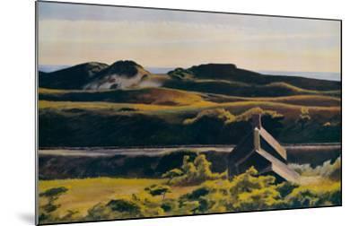 Hills, South Truro, 1930-Edward Hopper-Mounted Art Print