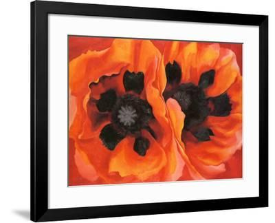 Oriental Poppies, 1928-Georgia O'Keeffe-Framed Art Print