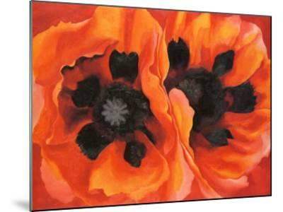 Oriental Poppies, 1928-Georgia O'Keeffe-Mounted Art Print
