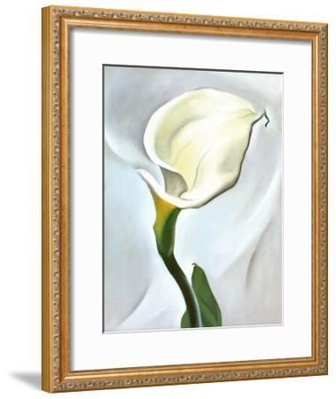 Calla Lily Turned Away, 1923-Georgia O'Keeffe-Framed Art Print