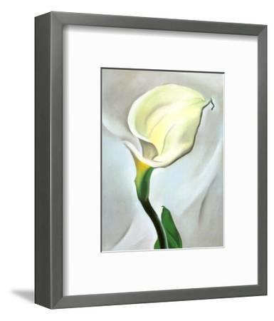 Calla Lily Turned Away, 1923-Georgia O'Keeffe-Framed Art Print
