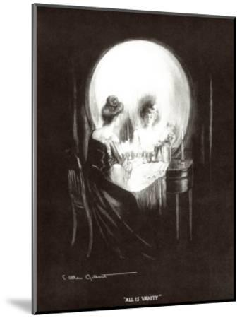 All Is Vanity-Allan C^ Gilbert-Mounted Art Print
