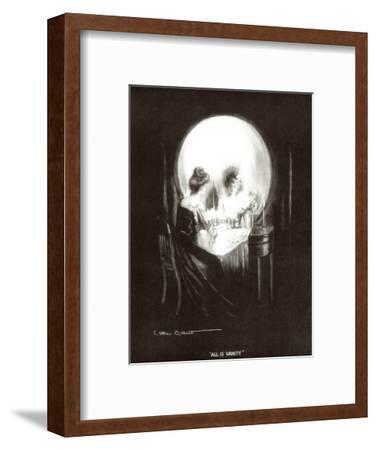 All Is Vanity-Allan C^ Gilbert-Framed Art Print