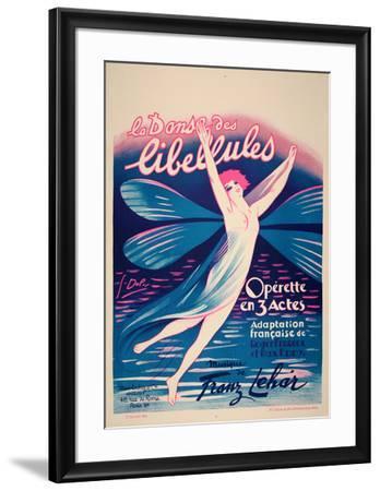 La Danse des Libellules (c.1926)-Georges Dola-Framed Collectable Print
