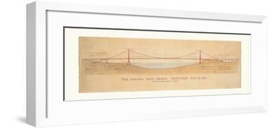Golden Gate Bridge-Craig Holmes-Framed Art Print