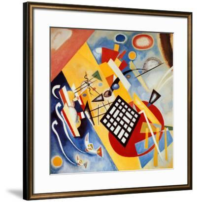 Black Frame-Wassily Kandinsky-Framed Art Print