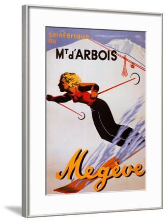 Megeve--Framed Art Print
