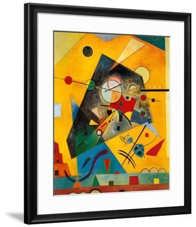 Quiet Harmony-Wassily Kandinsky-Framed Art Print