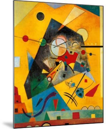 Quiet Harmony-Wassily Kandinsky-Mounted Art Print