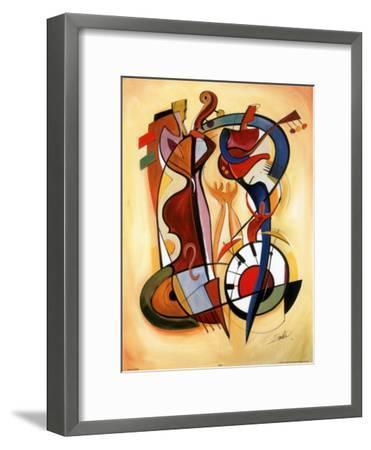 Wild Party I-Alfred Gockel-Framed Art Print
