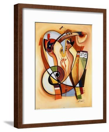 Wild Party II-Alfred Gockel-Framed Art Print