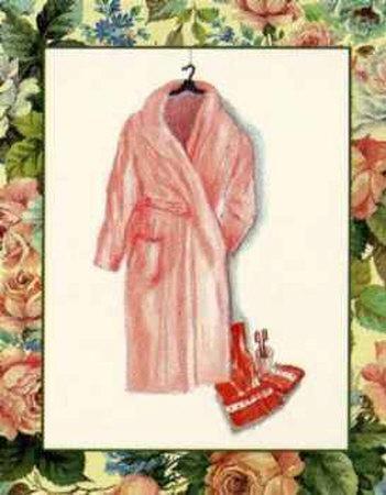 Wash Basins and Robes II-Sheila Higton-Framed Art Print