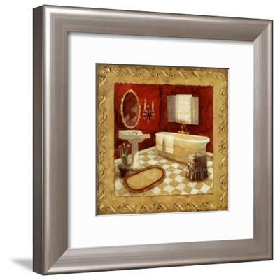 Salon Rouge II-Charlene Winter Olson-Framed Art Print