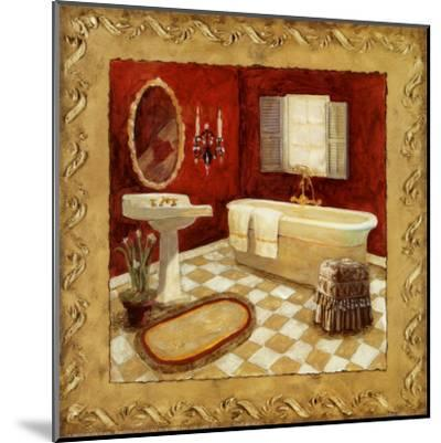 Salon Rouge II-Charlene Winter Olson-Mounted Art Print