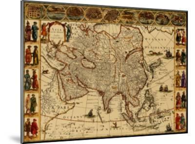 Antique Maps III-Willem Janszoon Blaeu-Mounted Art Print