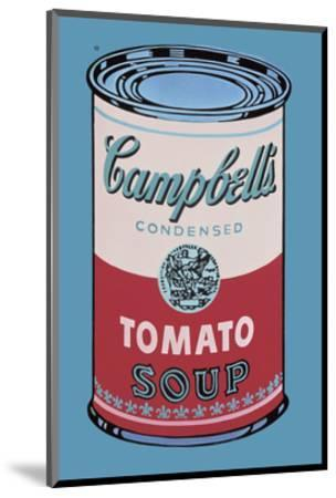 Campbell's Soup Can, 1965 (Pink and Red)-Andy Warhol-Mounted Art Print