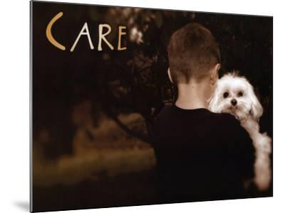 Care--Mounted Art Print