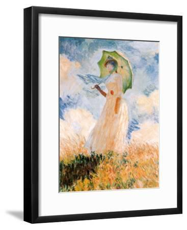 Woman With Umbrella Art Print By Claude Monet Art Com