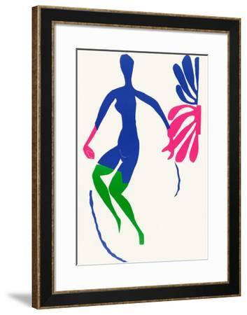 Blue Nude with Green Stockings-Henri Matisse-Framed Art Print