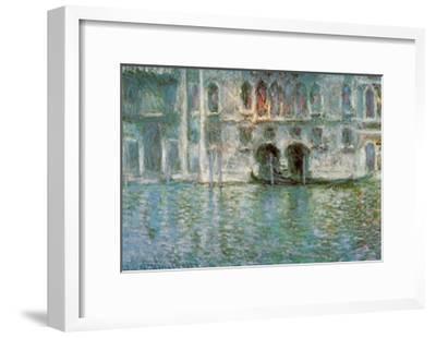II Palazzo da Mula a Venezia-Claude Monet-Framed Art Print