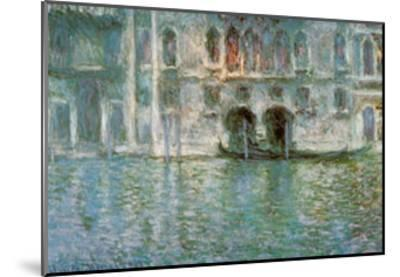 II Palazzo da Mula a Venezia-Claude Monet-Mounted Art Print